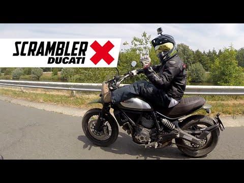 Ducati Scrambler Urban Enduro Test Ride