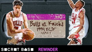 The drama-filled final play of the messy 1994 Knicks-Bulls Game 3 needs a deep rewind thumbnail