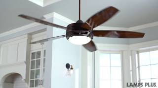 Casa Province™ Bronze Outdoor Ceiling Fan