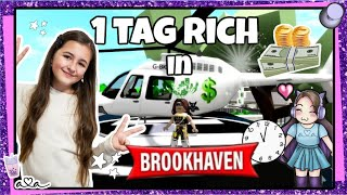 24 Stunden RICH in Brookhaven 🤑 Roblox RP RolePlay 💜 Alles Ava Gaming