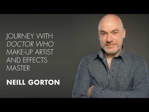 Journey with Doctor Who Make-up Artist and Effects Master Neill Gorton Live@IMATS New York