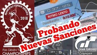 Gran Turismo Sport - Modo Sport | Manufacturer Series | Nuevas sanciones : Mejor pero insuficiente
