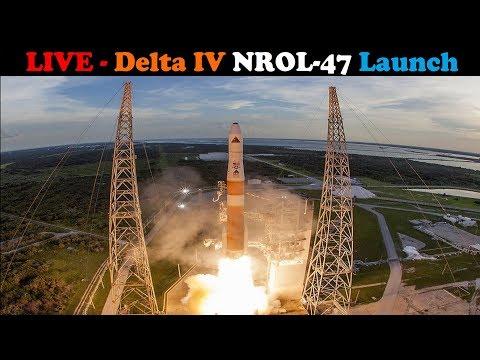 LIVE: Delta IV M+ (5,2) Rocket Launches NROL-47 Spacecraft