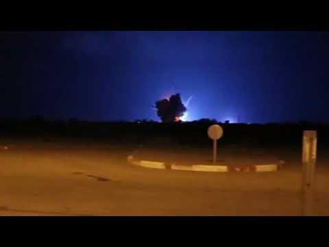 """בתגובה לרקטה: צה""""ל תקף הלילה יעדי טרור של ארגון הטרור חמאס ברצועת עזה"""