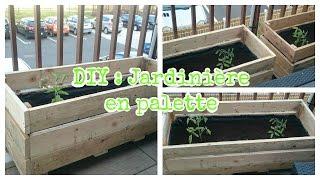 Tuto jardin : comment fabriquer une jardinière en palette