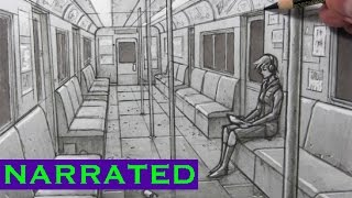 How to Use 1-Point Perspective [Interior Spaces]
