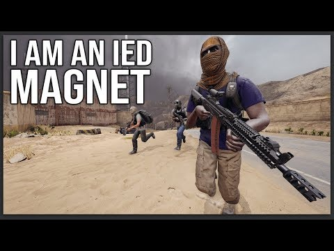 This guy kept throwing IEDs at me in Sandstorm...