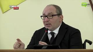 Кернес матюкнулся в микрофон из-за закупок фруктов для животных Харьковского зоопарка