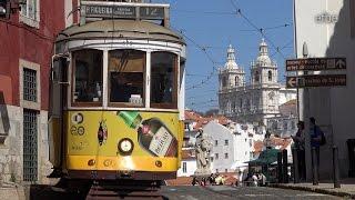 Lisbon Tram in 4K | Straßenbahn Lissabon | Linie 28 Alfama | Carris Lisboa | 07.04.2016