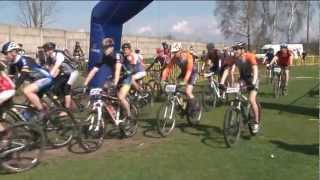 preview picture of video 'Daleszyce - MTBCROSS Maraton - 2012'