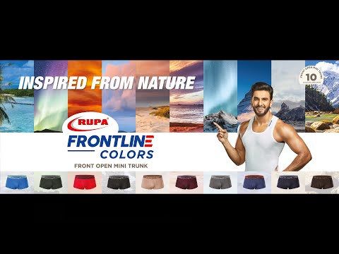 RUPA FRONTLINE COLORS - INSPIRED FROM NATURE!