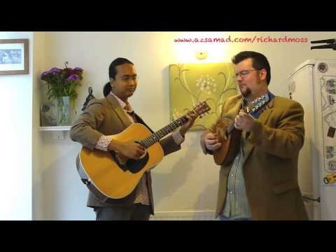 Penyair - Az Samad and Richard Moss (Acoustic Guitar & Mandolin Duet)