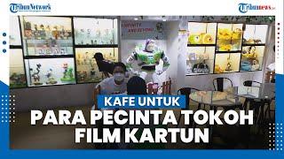 3 Brothers Cafe, Kafe Ini Bisa Jadi Surga Para Pecinta Tokoh Film Kartun dan Diecast