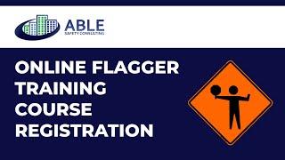 Work Zone Flagger Training