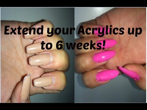 Video Refreshing your acrylics (up to 6 weeks!)