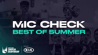 LEC : le Mic Check du summer Split 2020, le best of