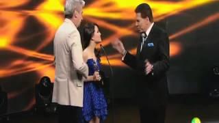 Silvio Santos aconselha Larissa Manoela ir para Globo