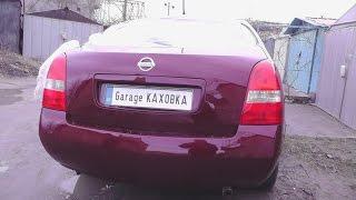 """Nissan Primera . Как выглядит  """"РАСПИЛ""""  после покраски."""