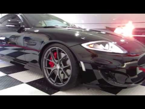 Jaguar XKR on HRE wheels  / Opti Coat Pro by Advanced Detailing of South Florida