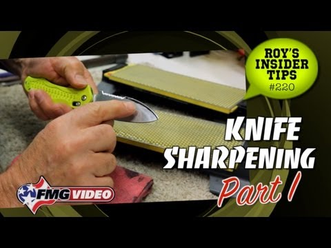 Knife Sharpening: Part I