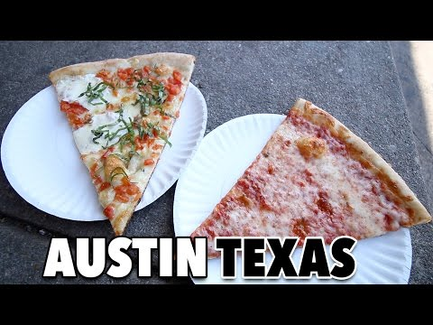 Video The Search For Austin's Best Slice