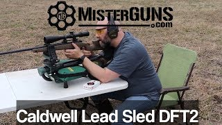 Caldwell Lead Sled DFT2   Best Shooting Rest  Assembly And Review
