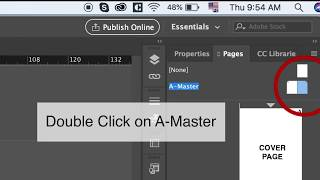 How to add Page numbers in Indesign CC 2019 (Basic Tutorial)