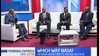 16 NASA Senators sign ouster petition