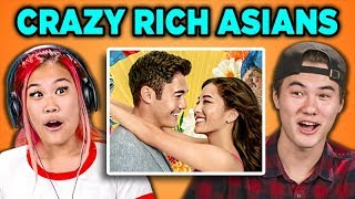 ASIAN PEOPLE REACT TO CRAZY RICH ASIANS