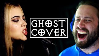 GHOST - Dance Macabre (Cover by @Jonathan Young & @Violet Orlandi)
