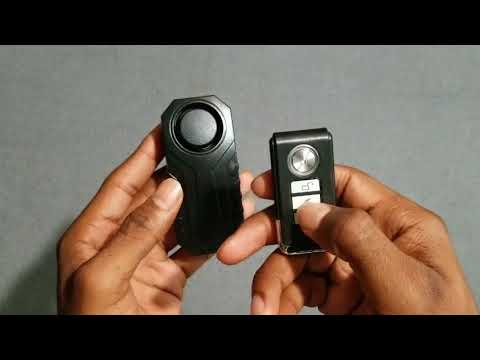 Anti-Theft Bike Alarm Unboxing Review by Slick