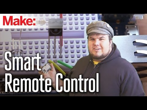 Build A Universal Smart Remote Control With An Arduino