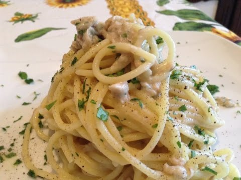 Espagueti con Atún