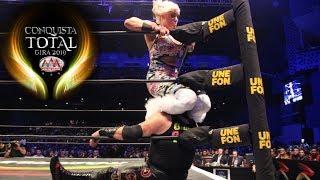 CONQUISTA TOTAL en Ciudad de Mexico Parte 1 | Lucha Libre AAA Worldwide