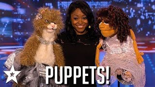 Funny Puppet Auditions That Made Judges Laugh! | Got Talent Global