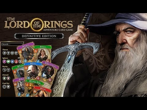 Gameplay de The Lord of the Rings: Adventure Card Game - Definitive Edition