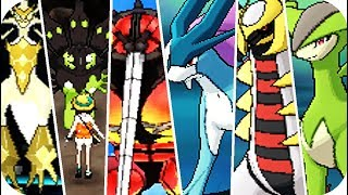 Pokemon Ultra Sun & Ultra Moon - All Legendary Pokémon Locations (1080p60)