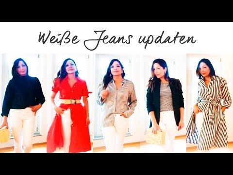 Trägt man 2019 noch weiße Jeans? Mit diesen 5 Teilen wirken sie cool & up to date | Sponsored Video