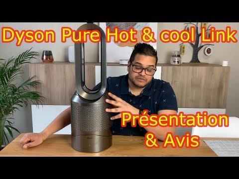 Purificateur Dyson Pure Hot & cool Link Avis et présentation