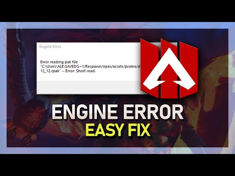 "Apex Legends - How To Fix ""Engine Error"" on PC"