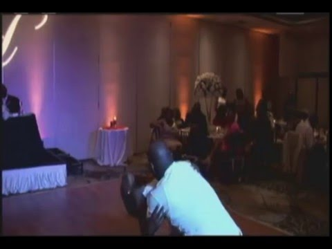 Wedding Performances are always fun!