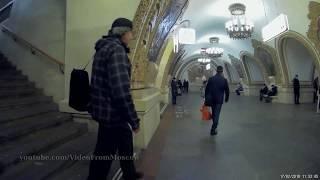 Метро Киевская кольцевая, вход на станцию