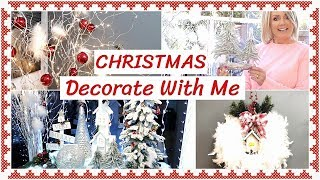 Decorate With Me For Christmas 2018