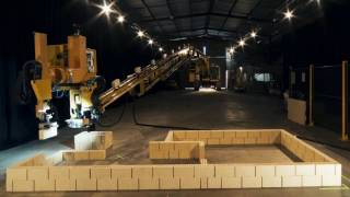 This brick-laying Robot builds houses four times faster than human bricklayer