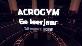 Acrogym-SHOW in het 6e leerjaar!