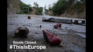 #ThisIsEurope: A video report on the closure of Souda Camp, Chios.