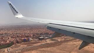 Boeing 737-800 (EI-GDG) Ryanair landing in Marrakech