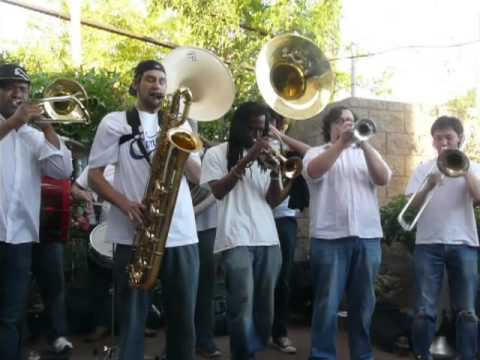 Element Brass Band - I Feel Like Funking it Up