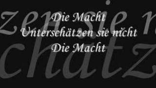 Terminal Choice - Die Macht (lyrics)