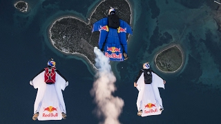 Wingsuit Flying Over the Heart of Croatia